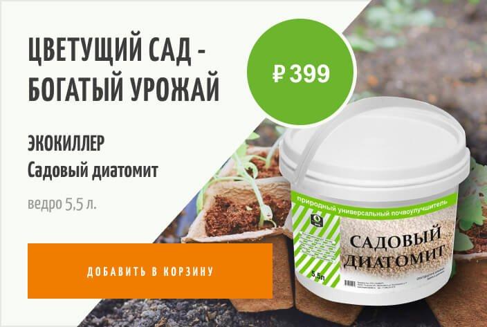 экокиллер садовый диатомит купить
